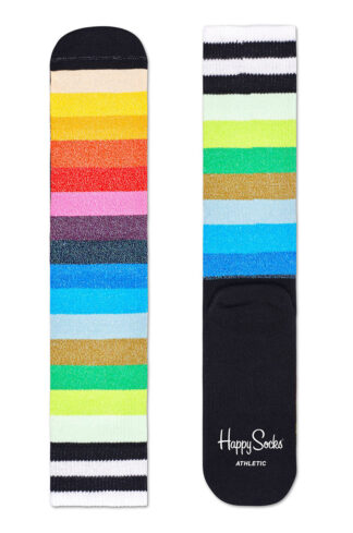 Happy Socks - Skarpetki Athletic Stripe Crew