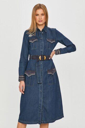 Desigual - Sukienka jeansowa