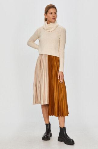 AllSaints - Sukienka na ramiączkach ze sweterm