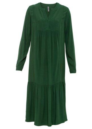 Sukienka bonprix zielony świerkowy