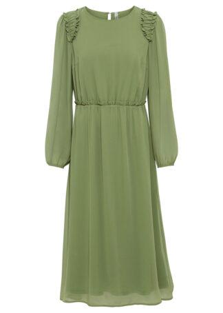 Sukienka bonprix zieleń mchu