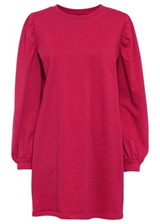 Sukienka dresowa z szerokimi rękawami