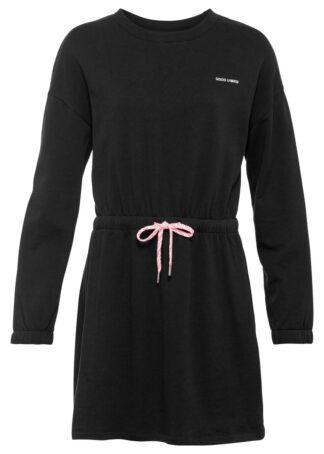 Sukienka dresowa z haftem