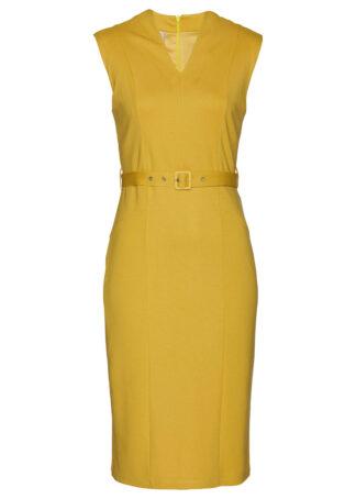 Sukienka shape z dżerseju