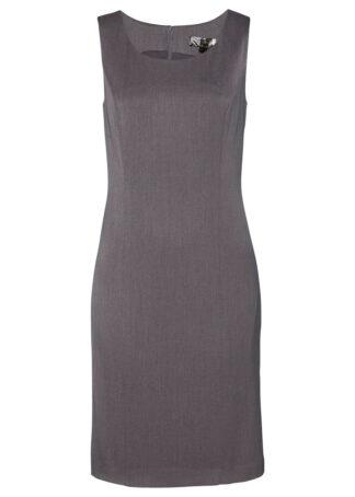 Sukienka ołówkowa bonprix szary melanż