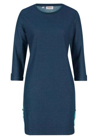 Sukienka dresowa w optyce dżinsowej