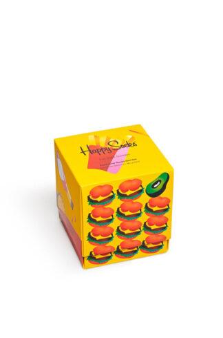 Happy Socks - Skarpetki Food Lover Socks Gift (3-PACK)
