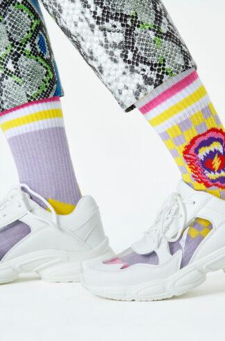 Happy Socks - Skarpetki Roar Thin Crew