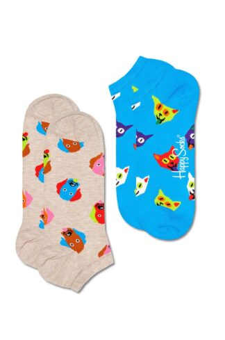 Happy Socks - Skarpetki Dog & Cat Low (2-PACK)