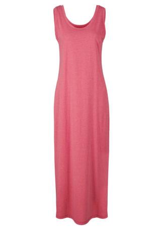 Sukienka w melanżowym kolorze bonprix dymny malinowy melanż
