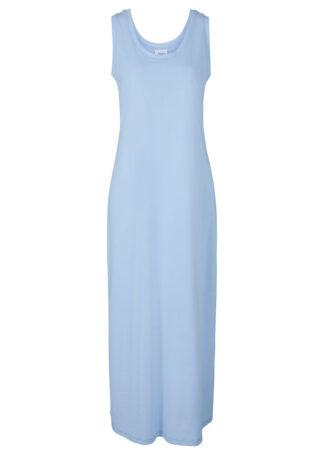 Sukienka w melanżowym kolorze bonprix perłowy niebieski melanż