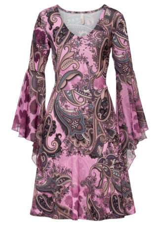Sukienka bonprix lila - paisley