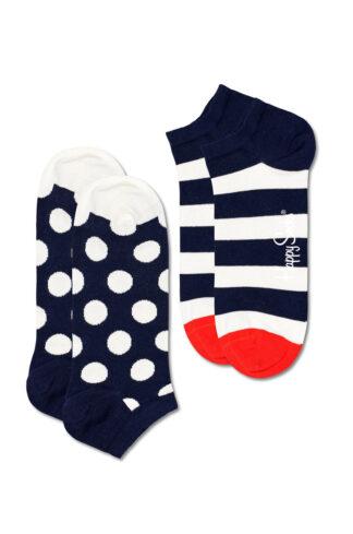 Happy Socks - Skarpetki Big Dot Stripe Low (2-PACK)