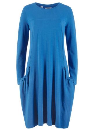 Sukienka oversize z kieszeniami