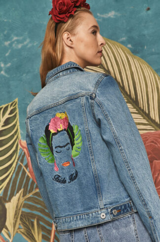 Medicine - Kurtka jeansowa Frida Kahlo