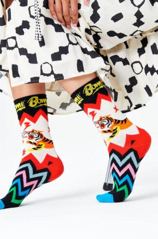 Happy Socks - Skarpetki x David Bowie Electric Tiger