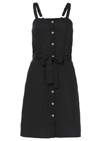 Sukienka TENCEL™ Lyocell bonprix czarny