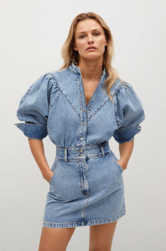 Mango - Sukienka jeansowa LOLA