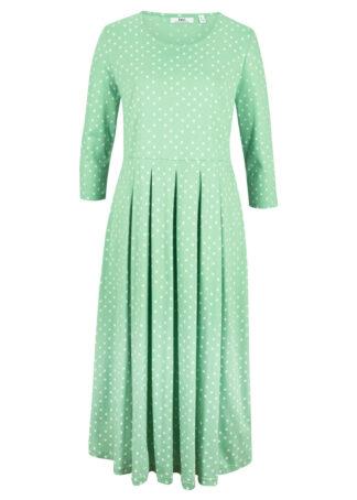 Sukienka z dżerseju z nadrukiem