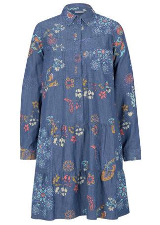 Sukienka dżinsowa z nadrukiem