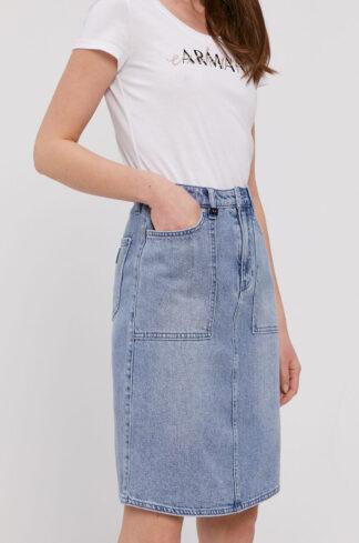 Armani Exchange - Spódnica jeansowa