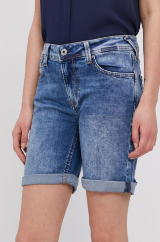 Pepe Jeans - Szorty jeansowe Poppy