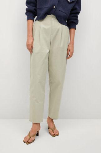 Mango - Spodnie Mint