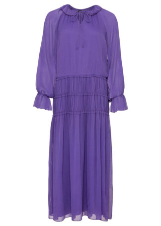 Długa sukienka bonprix hiacyntowy lila