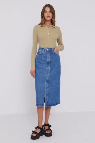 Samsoe Samsoe - Spódnica jeansowa