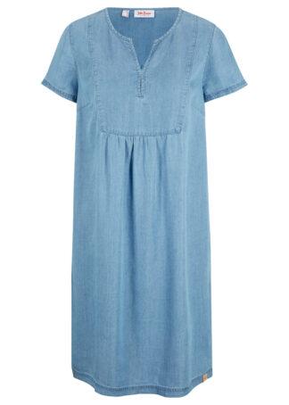 Sukienka dżinsowa TENCEL™ Lyocell bonprix jasnoniebieski