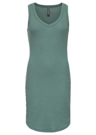 Sukienka shirtowa bonprix zielony
