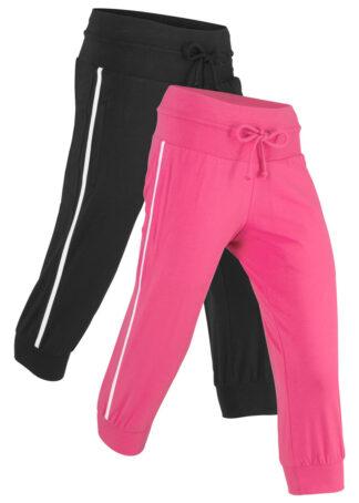 Spodnie sportowe 3/4 ze stretchem (2 pary)