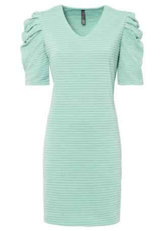 Sukienka bonprix jasny zielono-szary