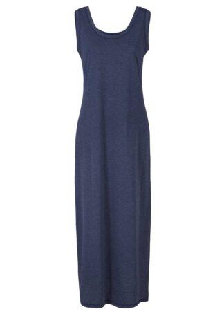 Sukienka w melanżowym kolorze bonprix ciemnoniebieski melanż