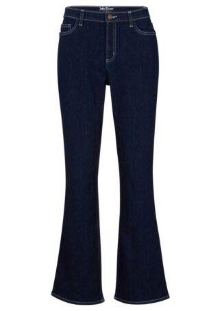 Dżinsy z materiału Positive Denim #1 Fabric bonprix ciemnoniebieski