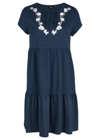 Sukienka tunikowa z dżerseju