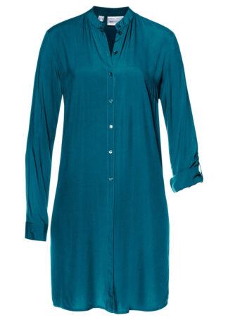 Długa bluzka bonprix niebieskozielony morski