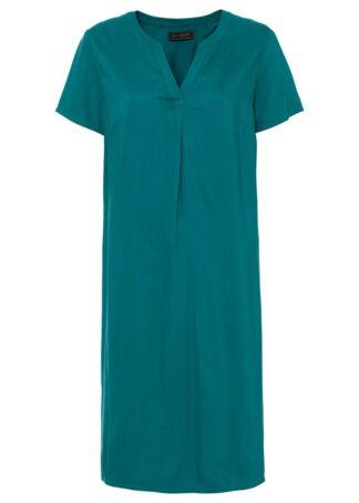 Sukienka tunikowa bonprix zielony
