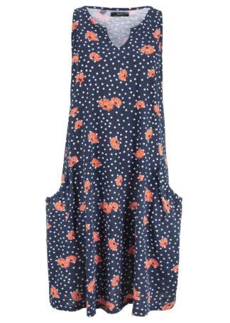 Sukienka z dżerseju z bawełny