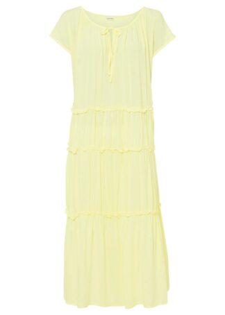 Sukienka koszulowa bonprix cytrynowy sorbetowy