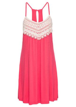 Sukienka letnia bonprix czerwony